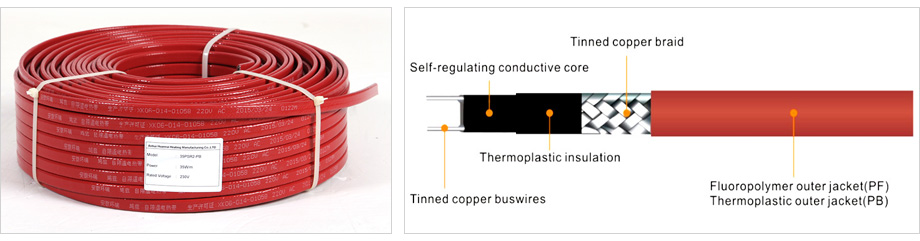 Industrial Self-regulating Heating Cable
